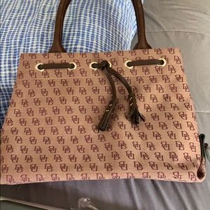 Cranberry Dooney and Bourke purse